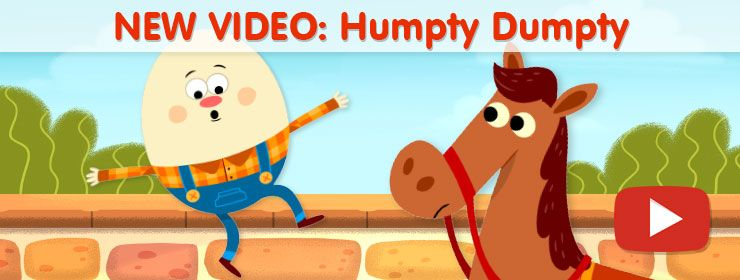Humpty Dumpty And Other Simple Nursery Rhyme Videos Perfect For Kindergarten Prek Library Lessons