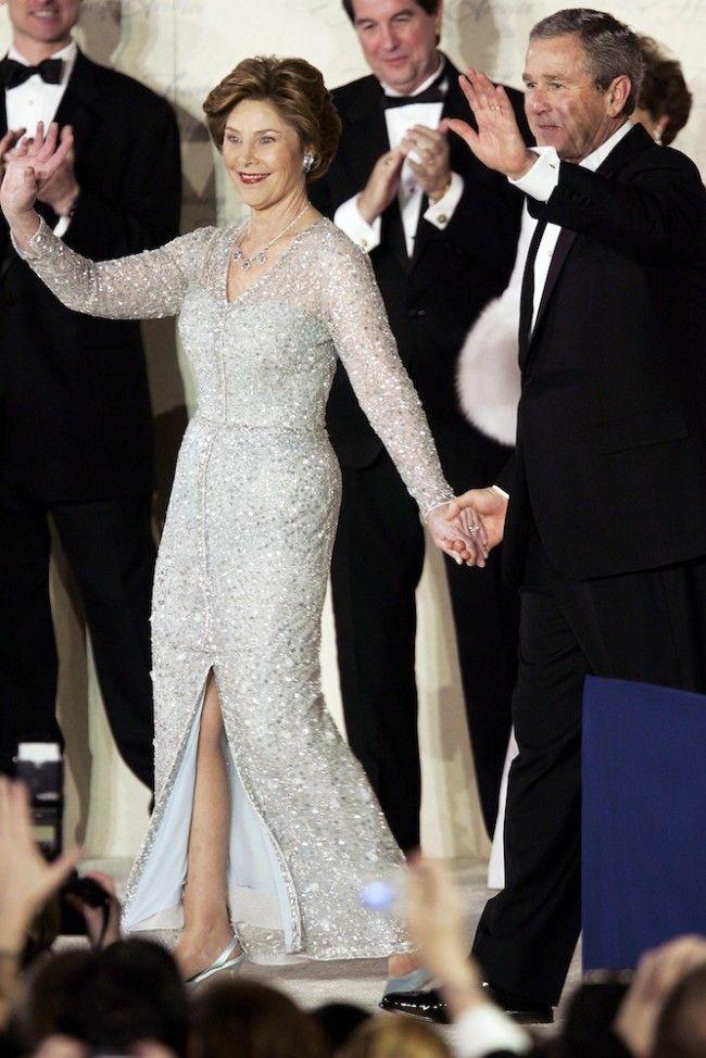 Barbara Bush Inaugural Gown People Pinterest Laura Bush