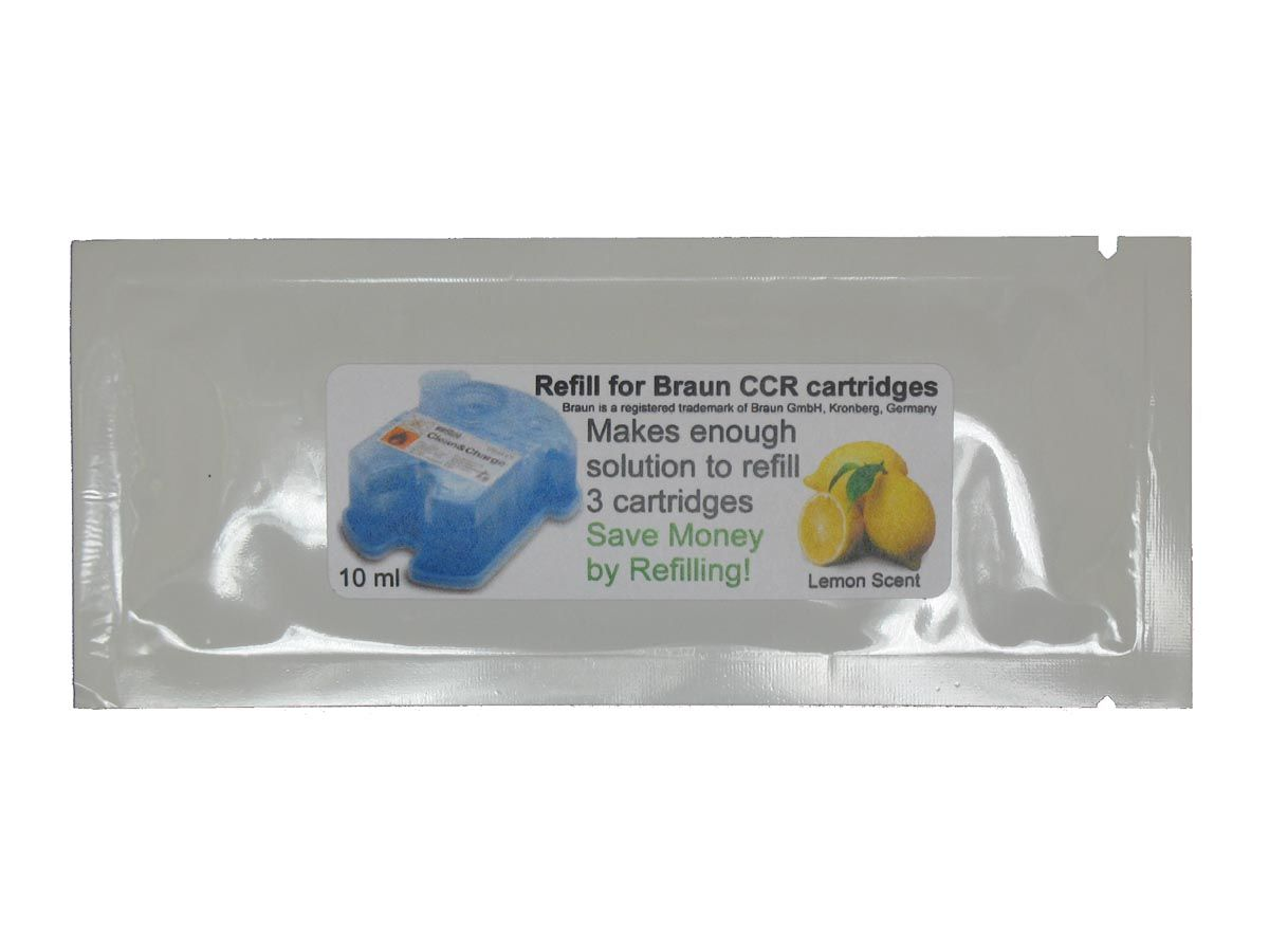 Refill Your Braun Clean Renew Cartridges Save Braun Clean And Renew Cleaning Refill