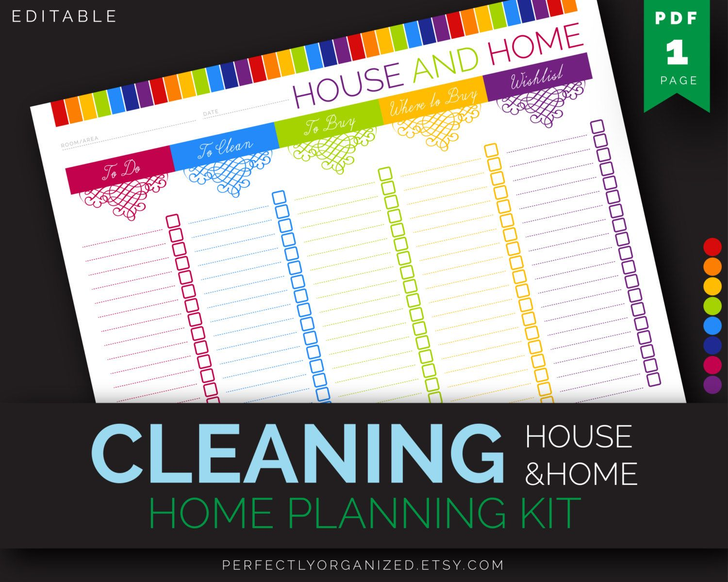 Clean Home Checklist Cleaning To Do List Cleaning Schedule