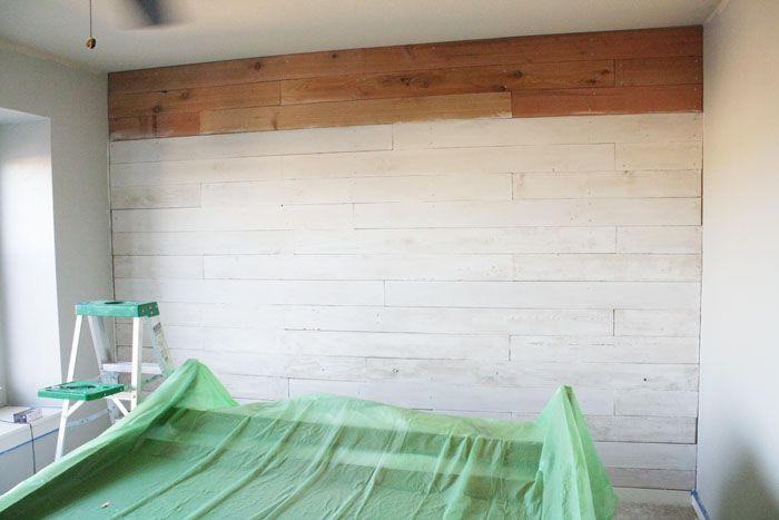 Bathroom White Washed Wood Wall White Wash Walls House Styles