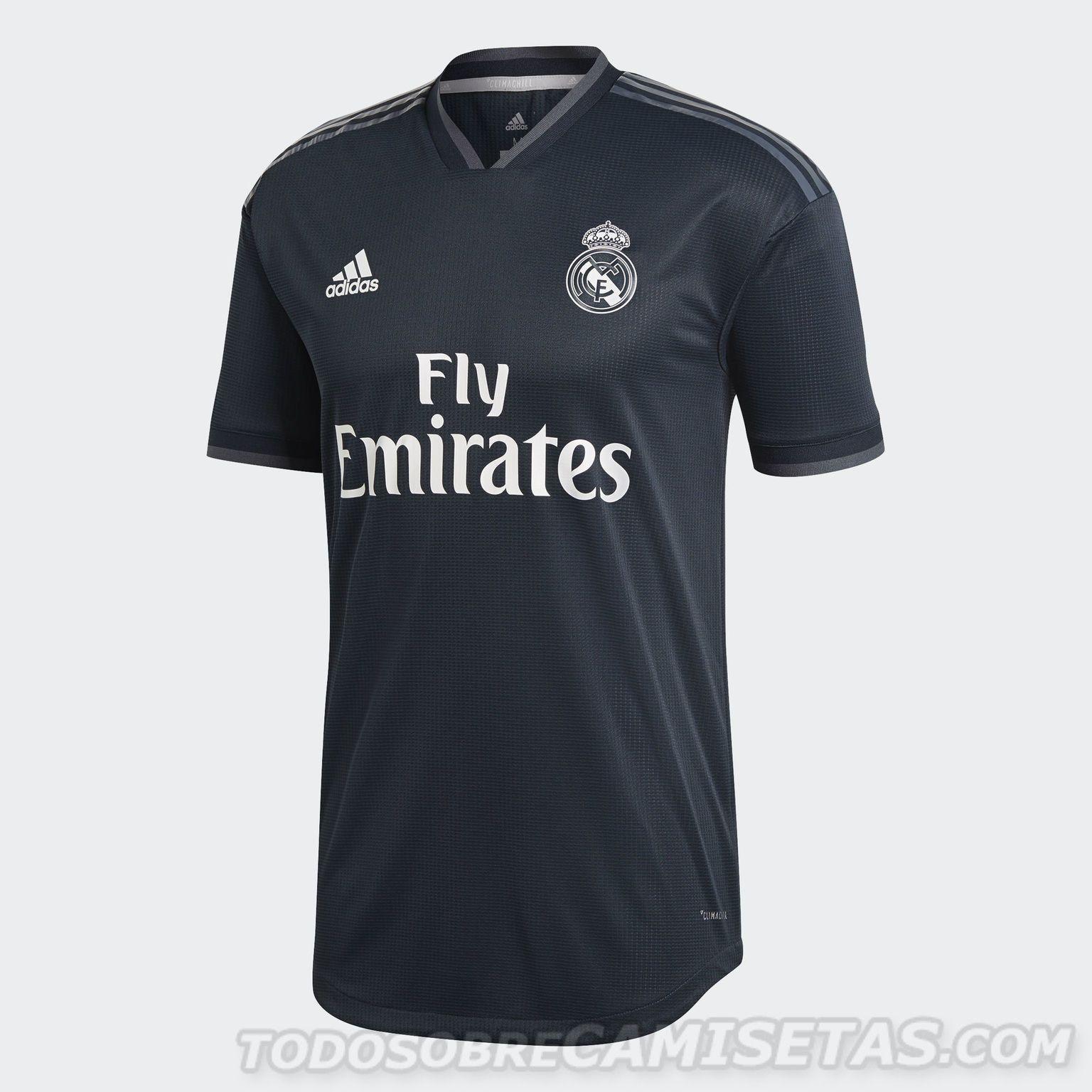 Equipaciones adidas de Real Madrid 2018-19  d332aa0facfb0