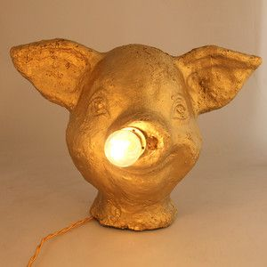 Rosario Lamp Gold Coloured 279 Conversation Piece Kids Room Nursery Lighting