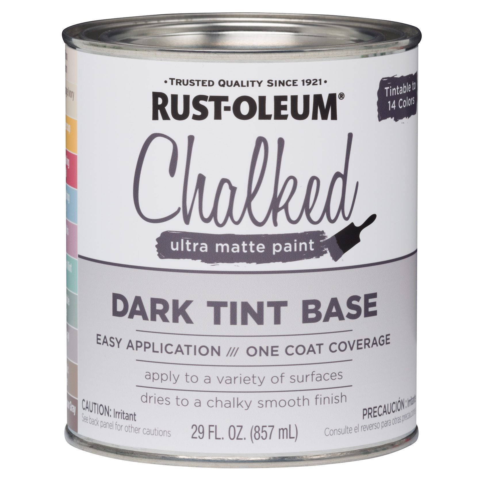 Rustoleum 287689 1 Gallon Dark Tint Base Chalked Ultra Matte