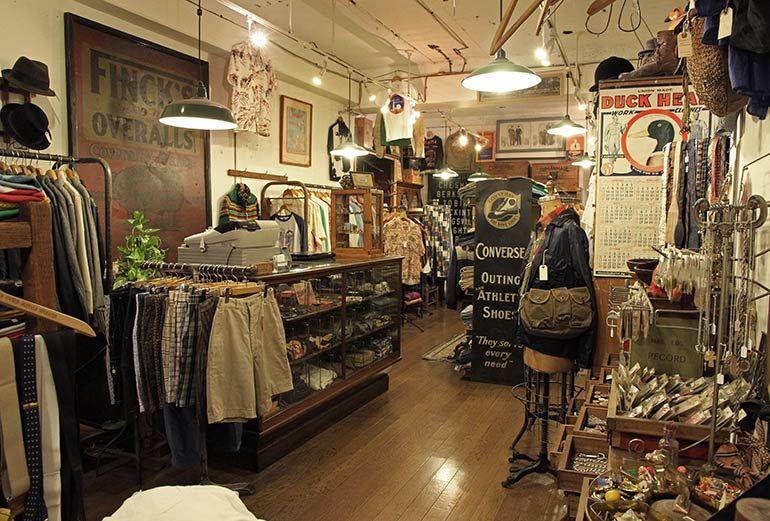 Heddels S Guide To Tokyo Vintage Shops Koenji Vintage Clothes Shop Vintage Shops Vintage Clothing Stores