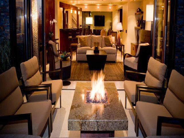 20 Smoking Hot Indoor Fire Pit Ideas | Fireplaces | Pinterest ...