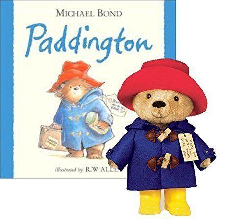 "Yottoy Paddington Bear Hardback Book /& 10/"" Plush Set"
