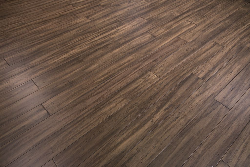 Distressed Bamboo Flooring In Treehouse By Cali Bamboo Sample