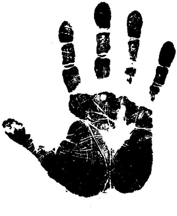 hand print hand - photo #17