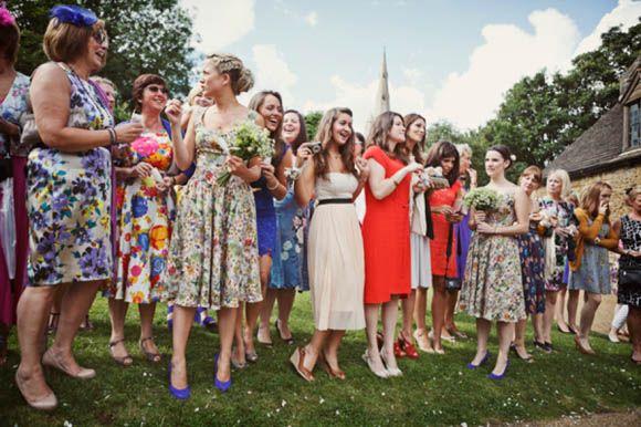 Guest Attire Garden Party WeddingGarden