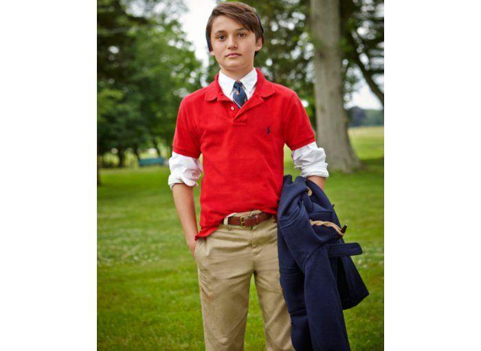 Ralph Lauren Boys' Polo, Oxford Shirt & Suffield Pants - Kids - Macy's