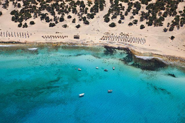 Chrissi island (or Chrysi or Gaidouronisi), Crete, Greece
