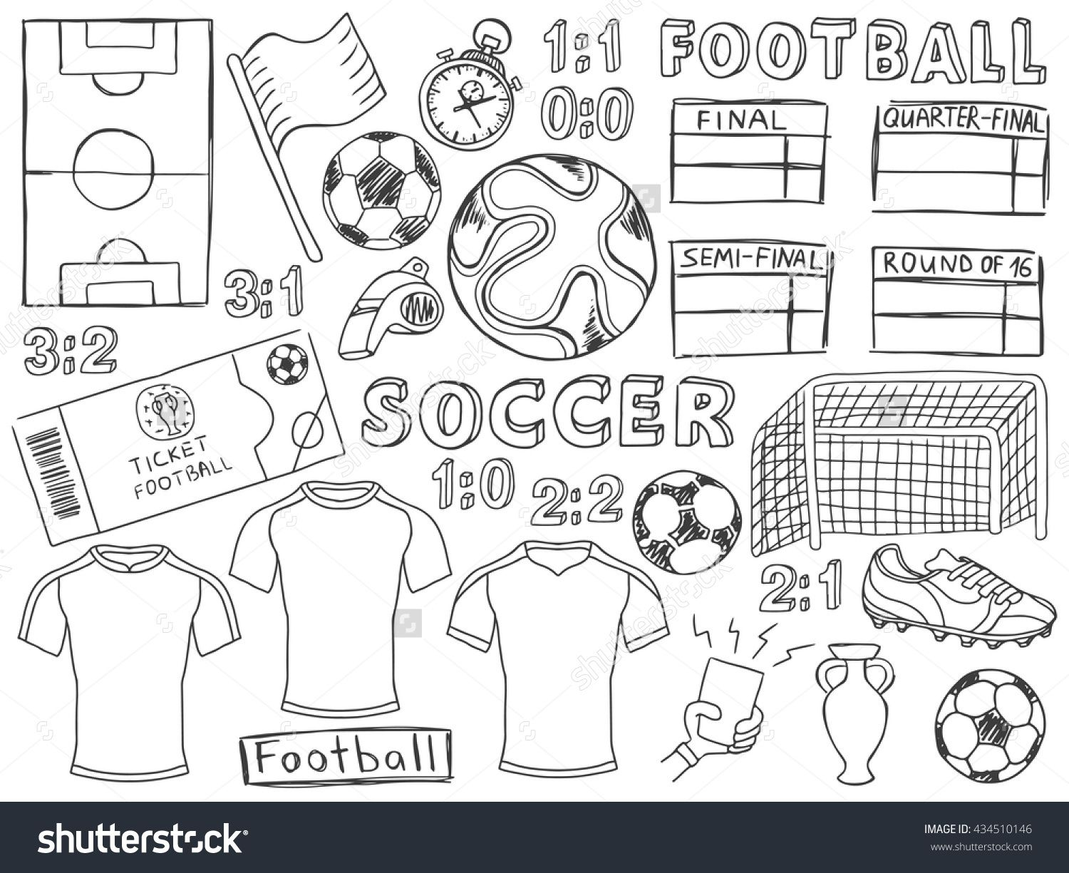 Pin By Andrea Gomez On Soccer Football Doodle Bullet Journal Doodles Bullet Journal Themes