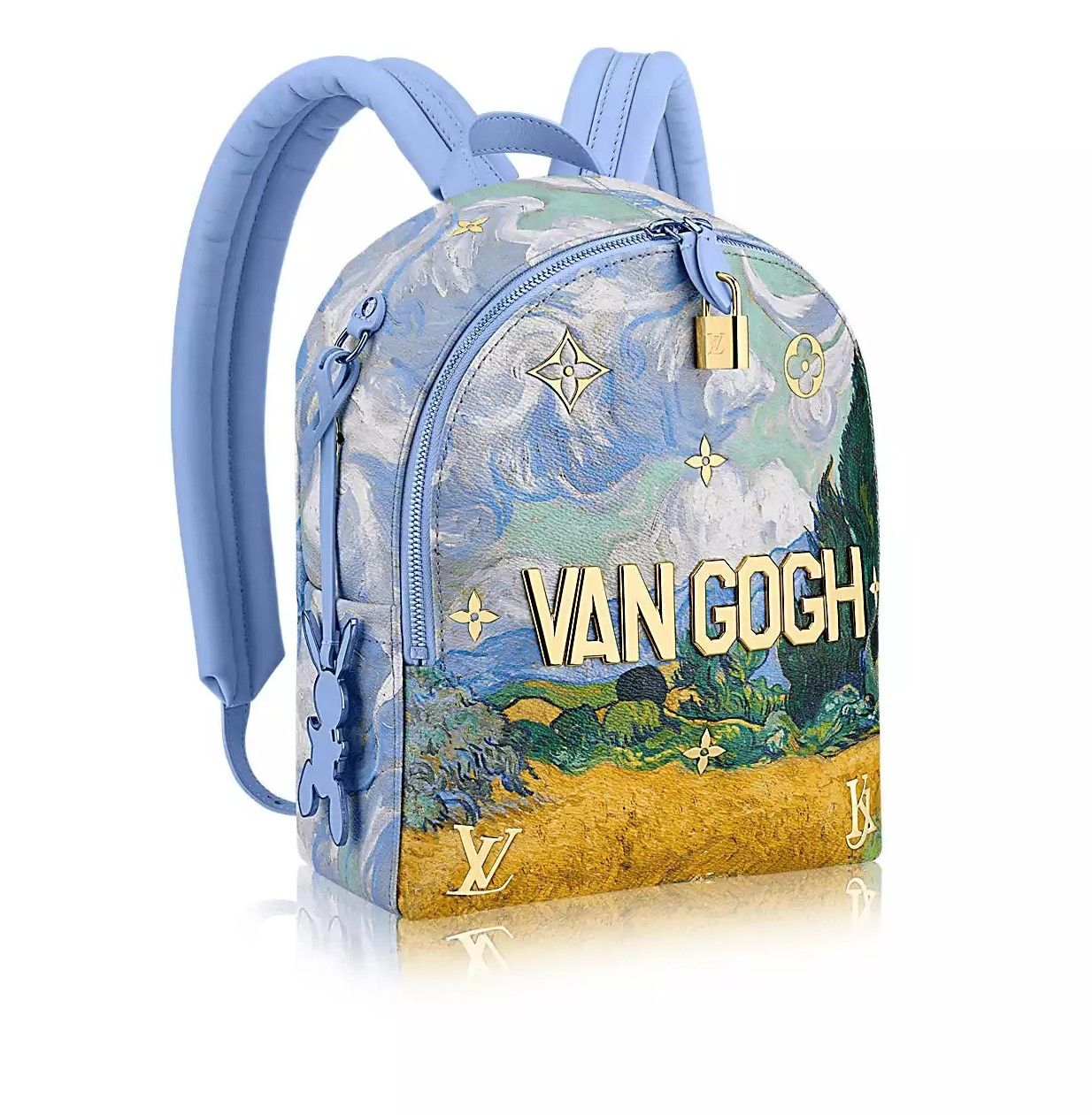 Louis Vuitton X Koons Van Gogh Backpack  95910c69ea1