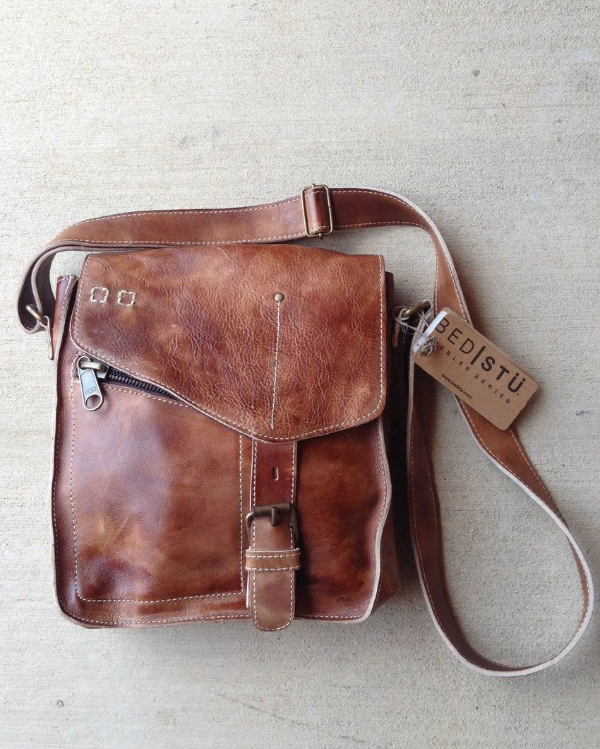 rivertrail mercantile - bed stu venice beach tan handbag, $165.00