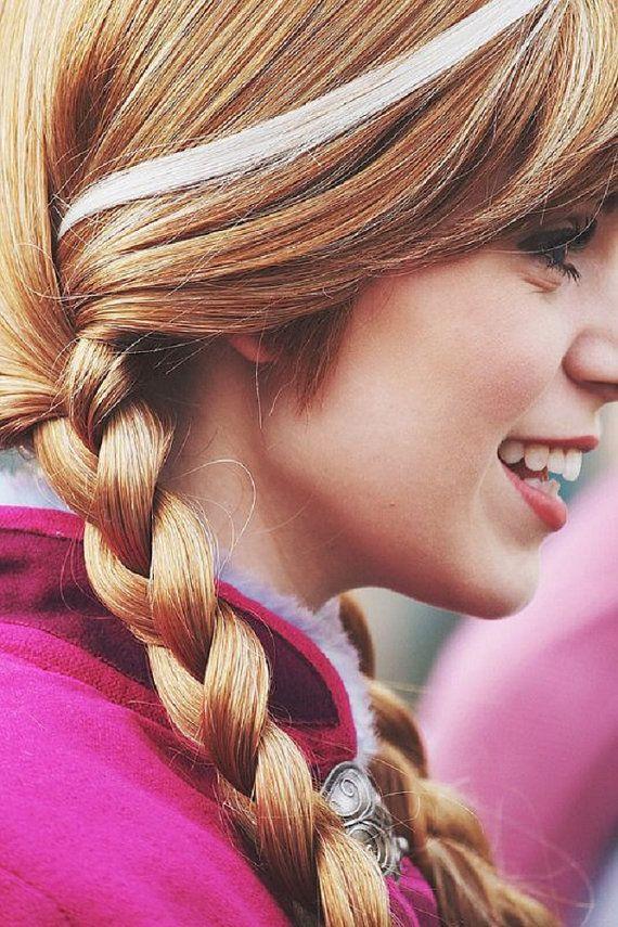 Frozen Anna White Hair