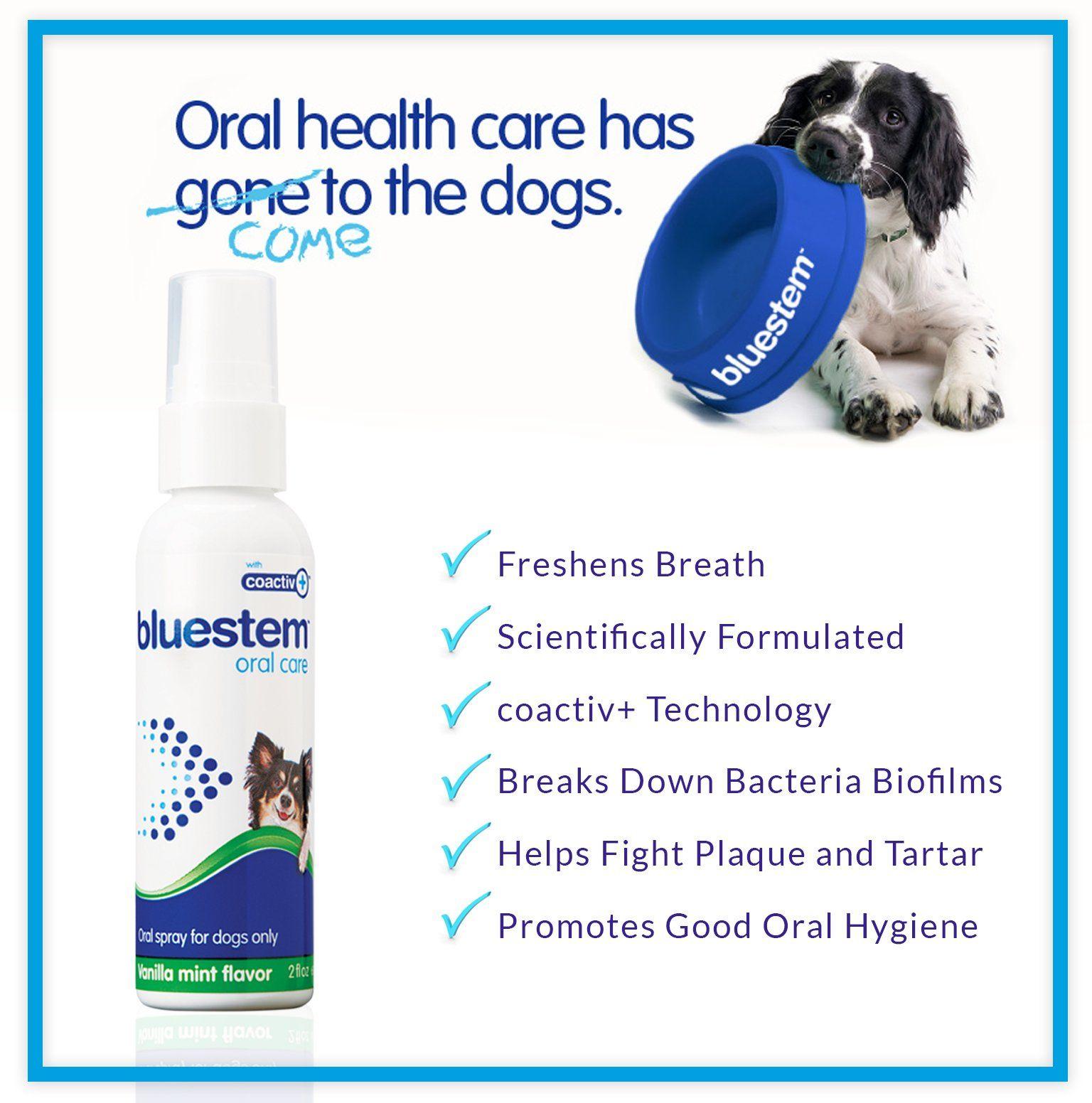 Dog Oral Spray Breath Freshener Pet Dental Teeth and
