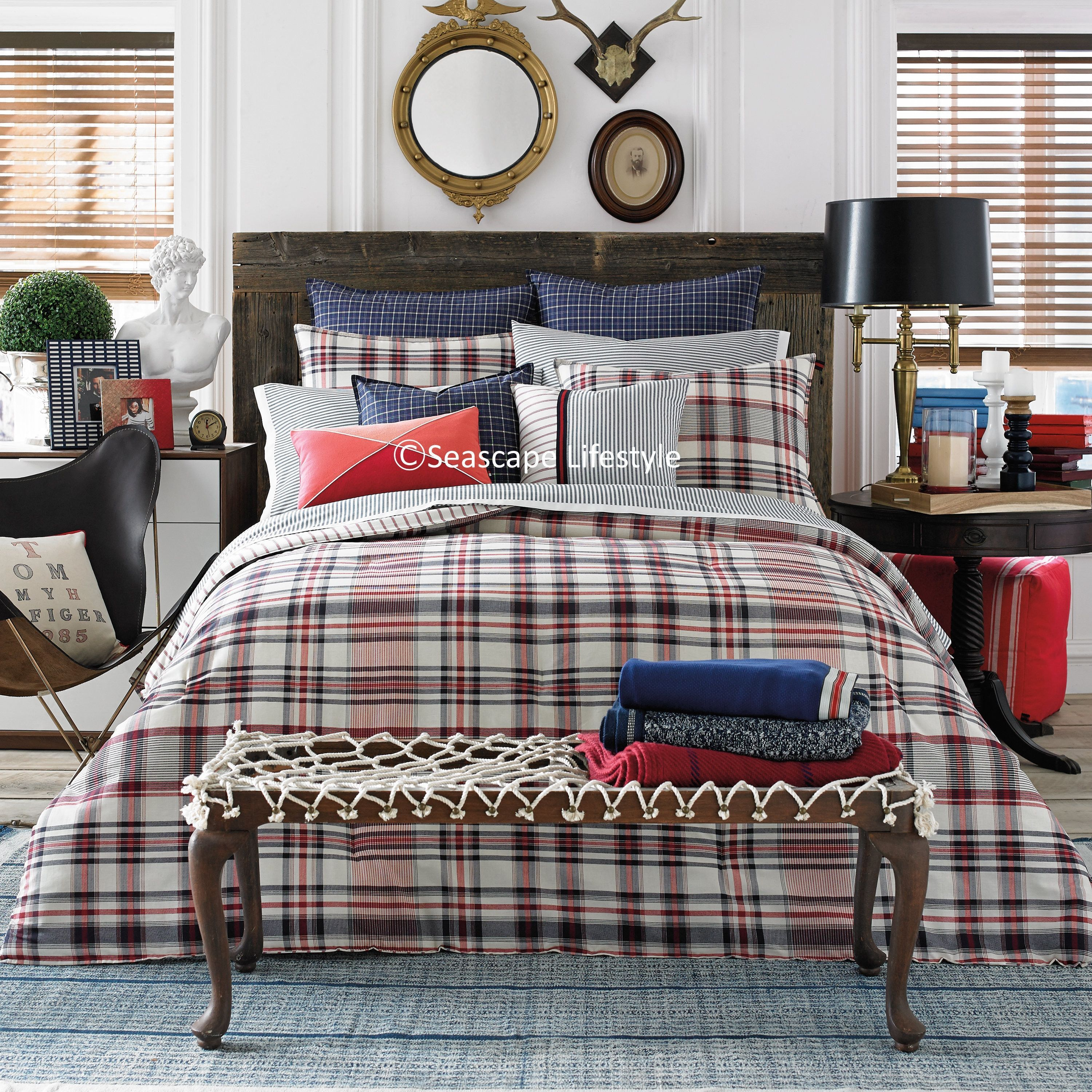 covers bag in duvet white plaid black bed teen ultimate p set boy twin queen king gray full eht masculine a bedding