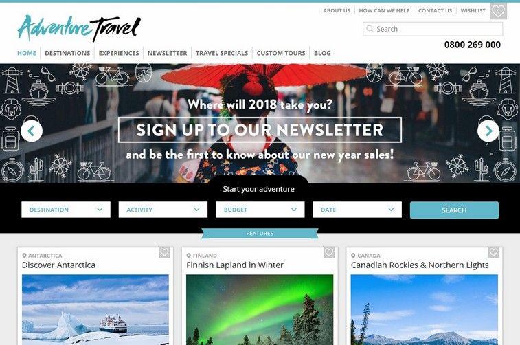 100 Best Travel And Tourism Website Design Ideas And Inspirations For 2020 Best Travel Websites Travel And Tourism Tourism Website