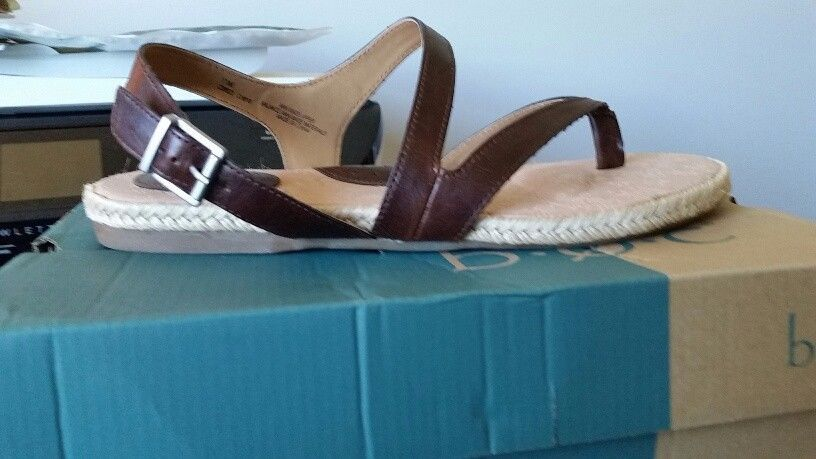 09e67c908 B.O.C Lucila Women Shoes Brown Strappy Flat Sandals Sz 10 M  fashion   clothing  shoes  accessories  womensshoes  sandals  ad (ebay link)