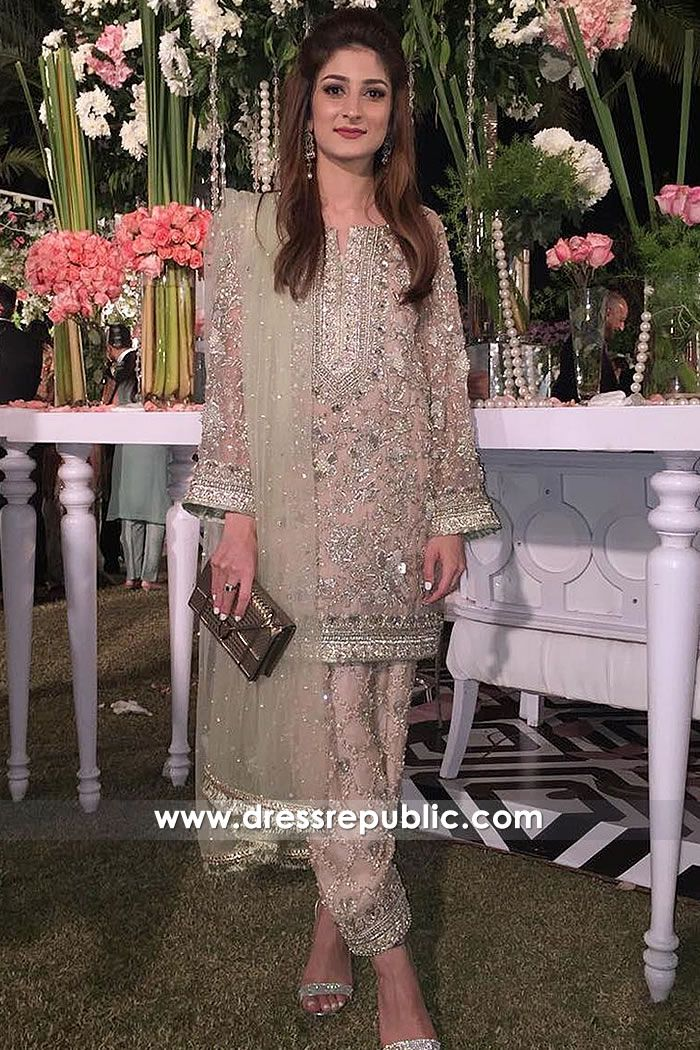 b403cc1604 Pakistani Wedding Guest Dress 2018 Buy in Toronto, Canada | Fashion ...