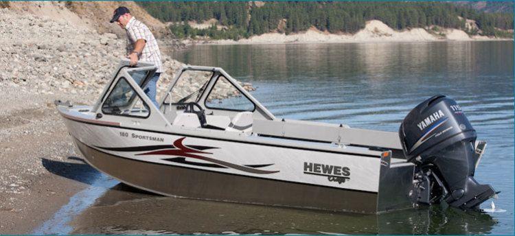 New 2012 Hewescraft 160 Sportsman Multi-Species Fishing Boat | Hewes