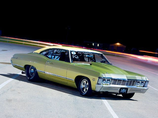 1967 Chevy Impala Drag Car Super Chevy Magazine Chevy Impala