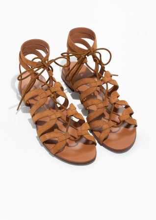 & Other Stories | Lacing Sandals