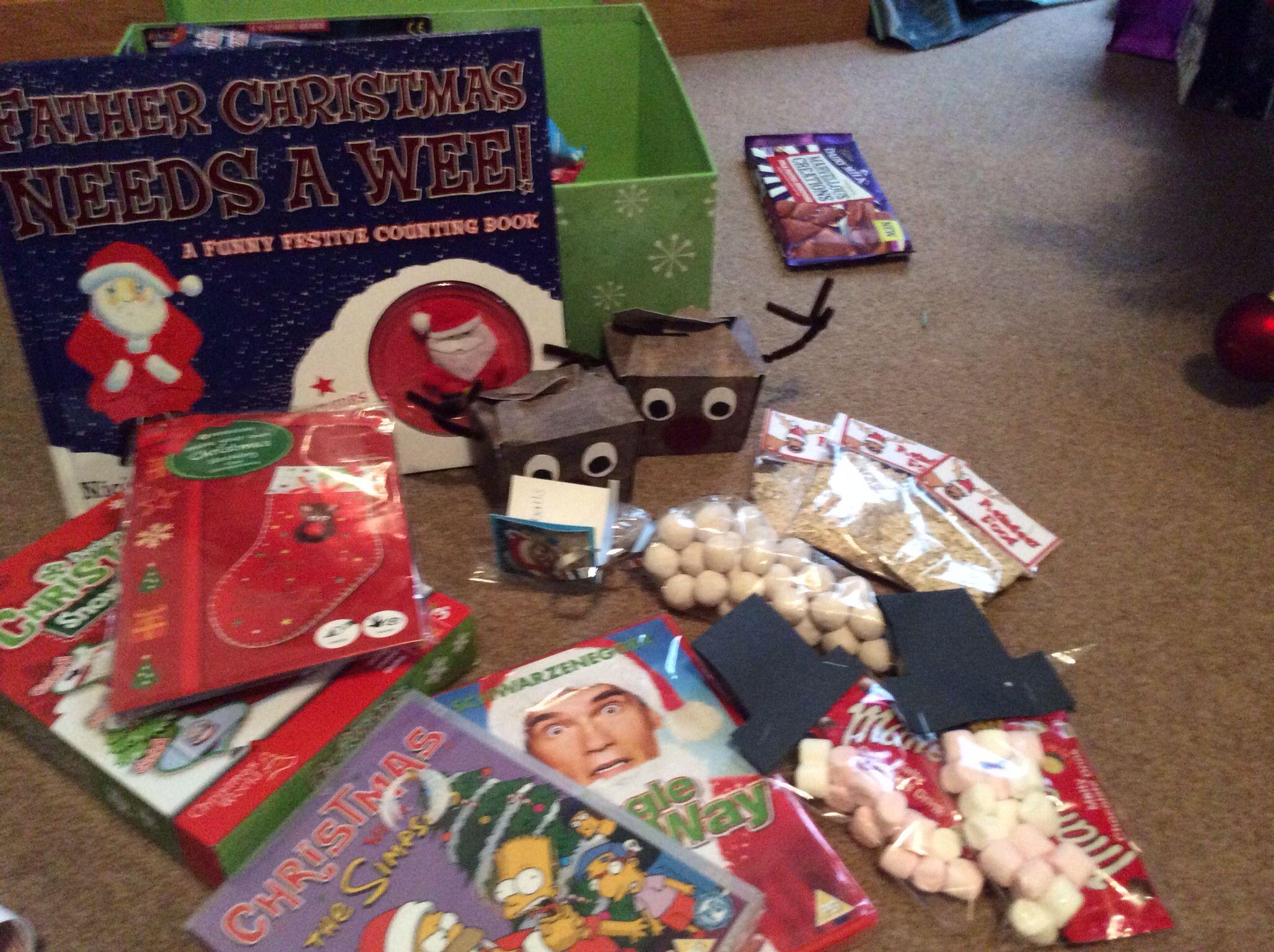 Christmas Eve box contents 2013   Regalos