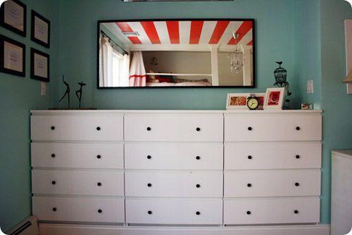 Schreibtisch Ikea Micke Gebraucht ~   Pinterest  Kinderkommoden, Kommoden Oben und Kommode neu gestalten