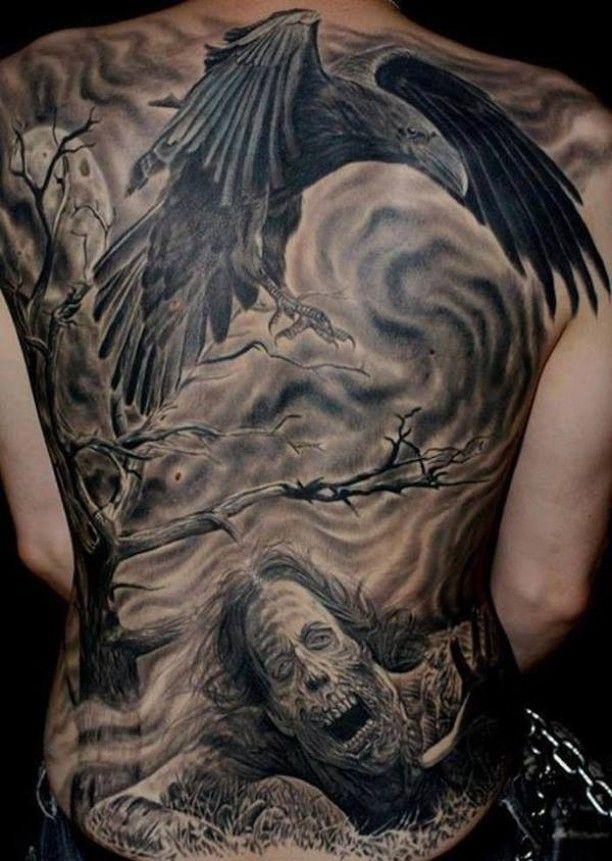 tattoo kr he und zombie nachts tattoos pinterest tattoo ideen und ideen. Black Bedroom Furniture Sets. Home Design Ideas