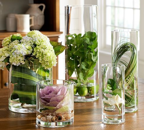 Aegean Clear Glass Vases Glass Vase Decor Clear Glass Vases