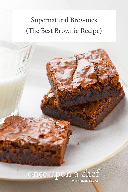 Supernatural Brownies (The Best Brownie Recipe) is part of Desserts -