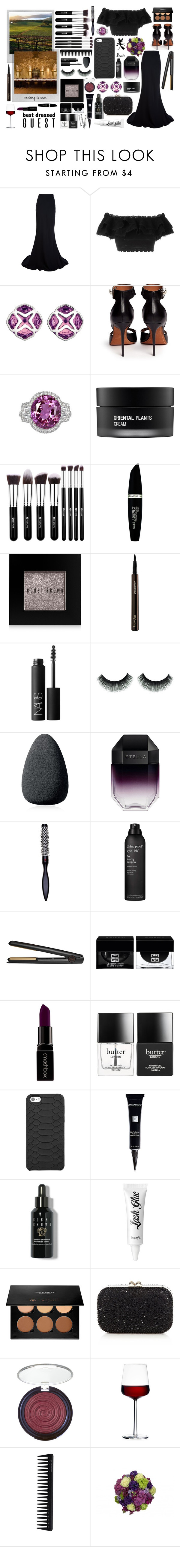 """""""Best Dressed Guest: Winery"""" by miica-olavarria ❤ liked on Polyvore featuring Alexander McQueen, Chopard, Givenchy, Koh Gen Do, Max Factor, Bobbi Brown Cosmetics, Hourglass Cosmetics, NARS Cosmetics, Christian Dior and STELLA McCARTNEY"""