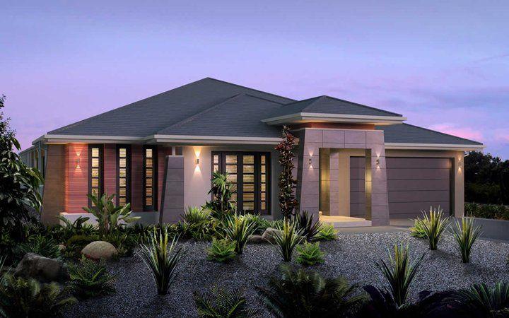 Metricon home designs the chelsea pagoda facade visit for Home designs victoria