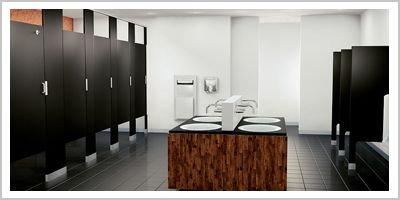 Modern bathroom partitions google search toilet for Bathroom partition hardware near me