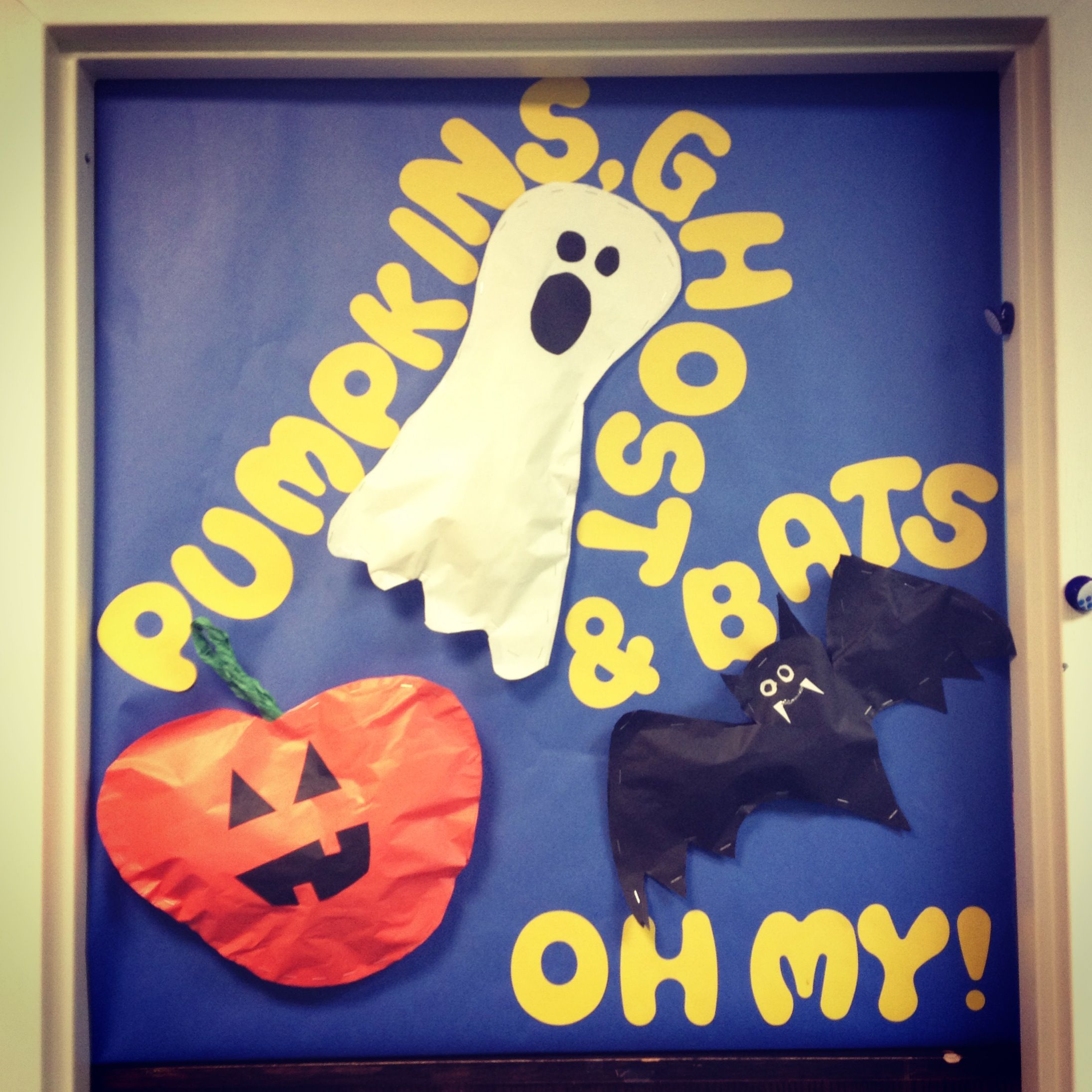 Halloween classroom door decoration Let\u0027s get CREEPY Pinterest