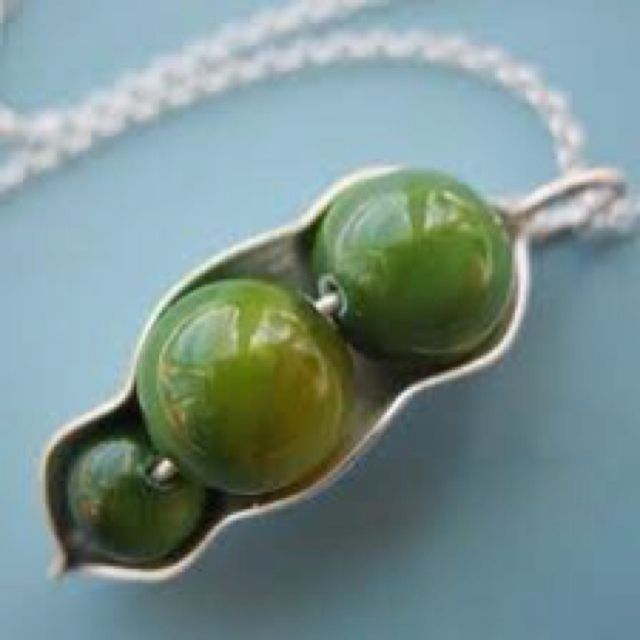 Pea's in a Pod Necklace.