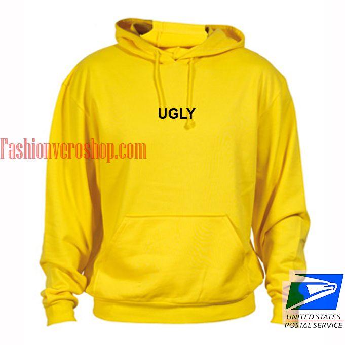 Ugly Yellow hoodie