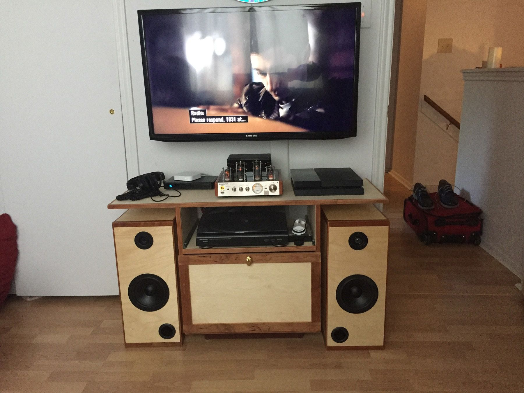 Rockler customer David built his own speakers using our DIY kit