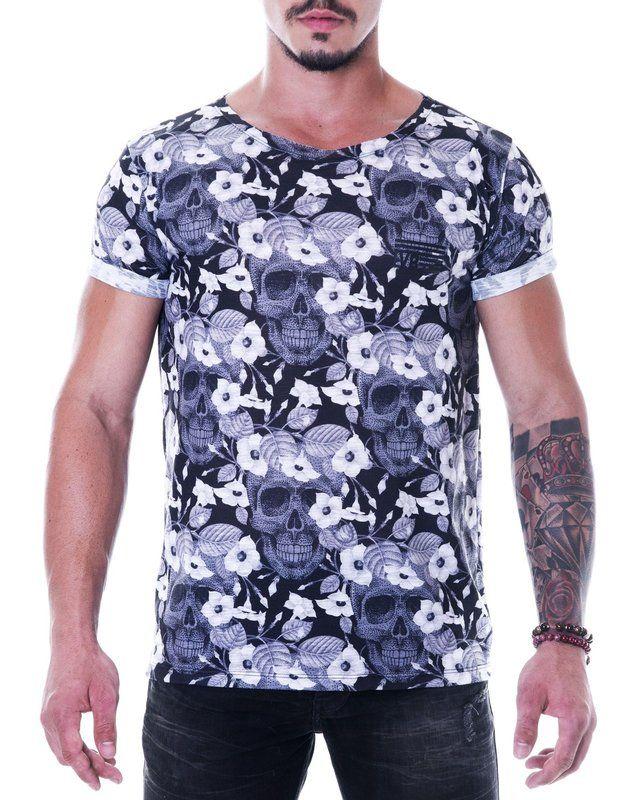 6e673ae4b Camiseta Masculina Estampa FullPrint