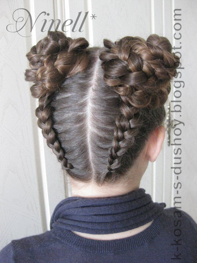 hair styles for little girl quot к косам с душой quot с ninell лада hair styles 1062 | a16883f29e9602dd176fddf4eb6c1062