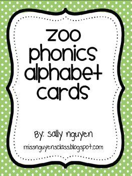 Zoo Phonics Letter 2