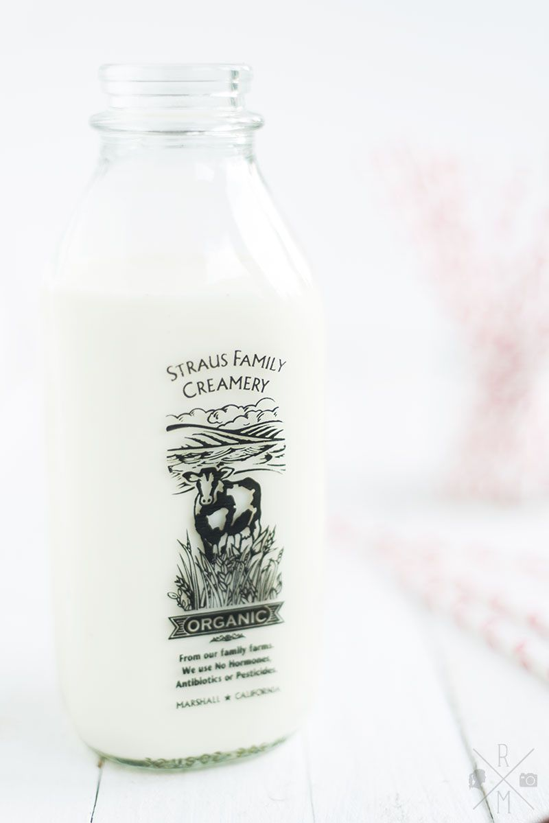 Milk Bottle from Straus Family Creamery San Francisco | relleomein.de