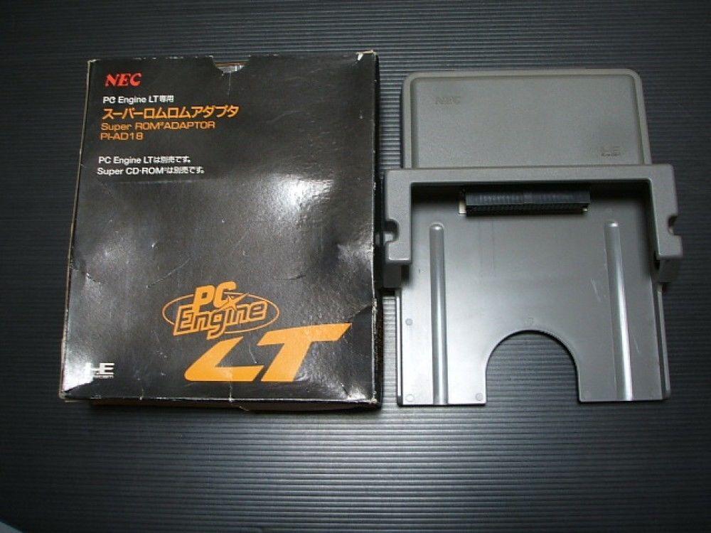 USED Super Rom2 Adaptor Boxed PC Engine LT Import Japan 1140