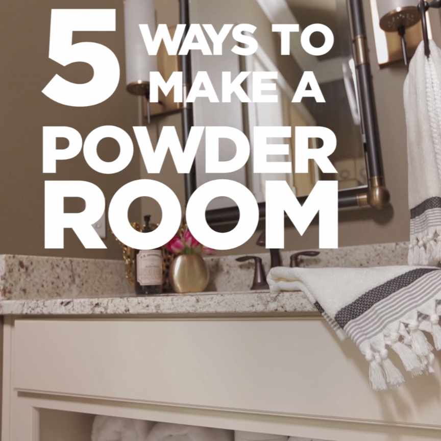 Photo of 5 Ways to Prep a Powder Room from HGTV Smart Home 2016