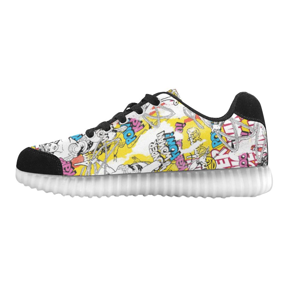 wonder woman light up sneakers