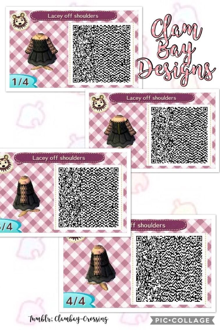 ACNL Brown Overalls QR   Qr codes animal crossing, Qr