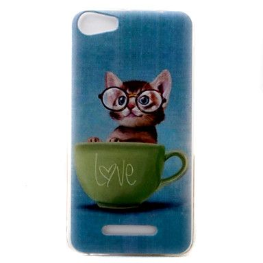 1 99 Case For Wiko Pattern Back Cover Cat Soft Tpu For Wiko Lenny 3 Wiko Lenny 2