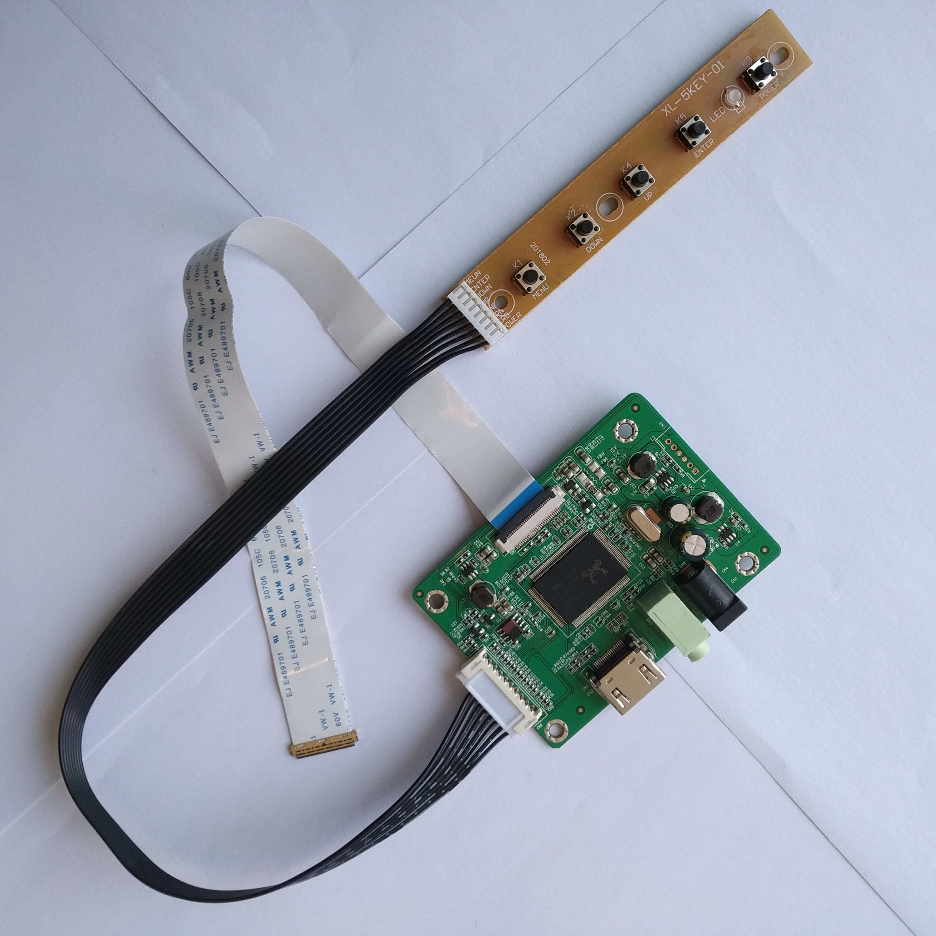 B140XTN02.A NEW Kit Work For LCD LED EDP Controller Driver Board HDMI+VGA LVDS